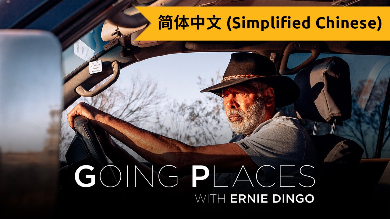 Going Places with Ernie Dingo (Simplified Chinese)