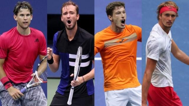 Full replay: Carreno Busta v Zverev, Medvedev v Thiem - US Open 2020 men's singles semi-finals