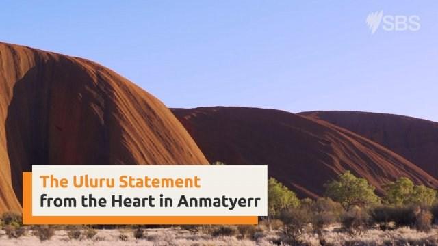 Uluru Statement from the Heart in Anmatyerr