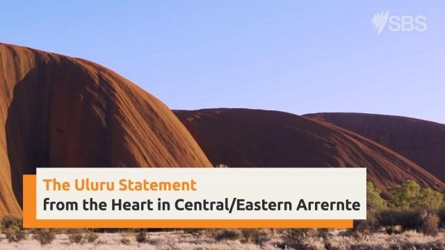 Uluru Statement from the Heart in Eastern Central Arrernte