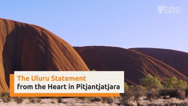 Uluru Statement from the Heart in Pitjantjajara