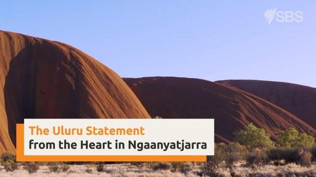 Uluru Statement from the Heart in Ngaanyatjarra