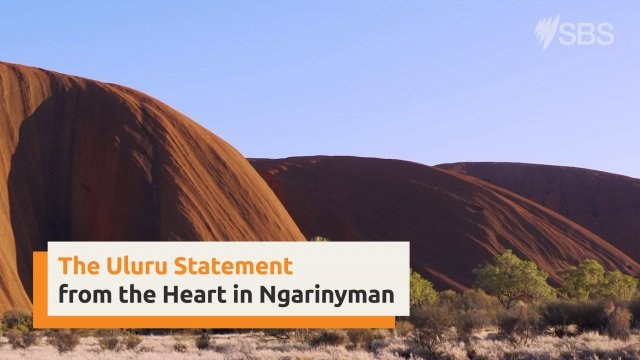 Uluru Statement from the Heart in Ngarinyman