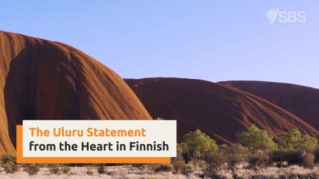 Uluru Statement from the Heart in Finnish