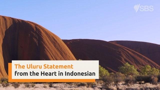 Uluru Statement from the Heart in Indonesian