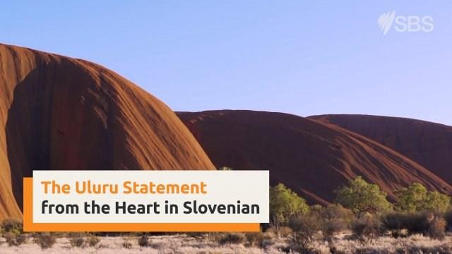 Uluru Statement from the Heart in Slovenian