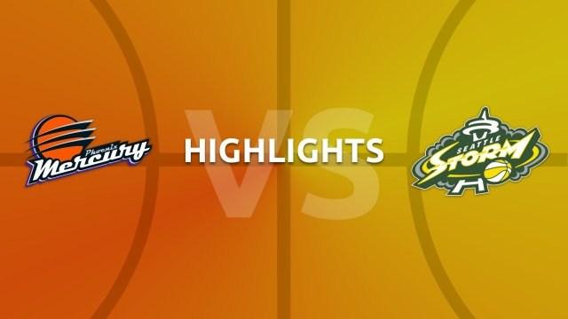 WNBA highlights - Phoenix Mercury v Seattle Storm
