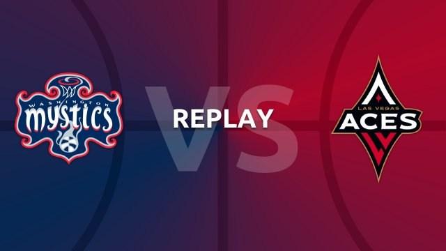 WNBA replay: Washington Mystics v Las Vegas