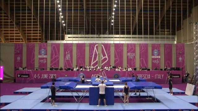 Gymnastics: Trampoline World Cup Italy S2020 Ep15 - Gymnastics: Trampoline World Cup Series, Italy