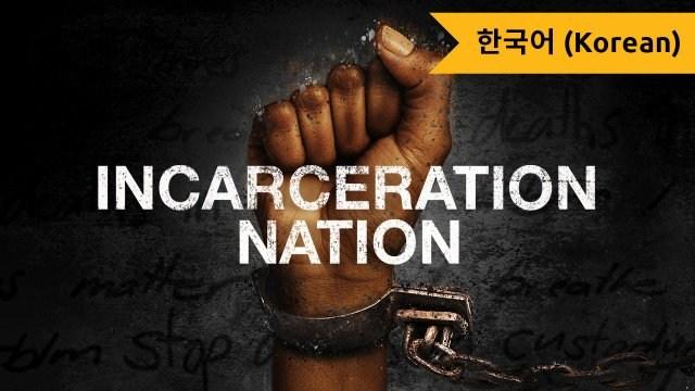 Incarceration Nation (Korean)
