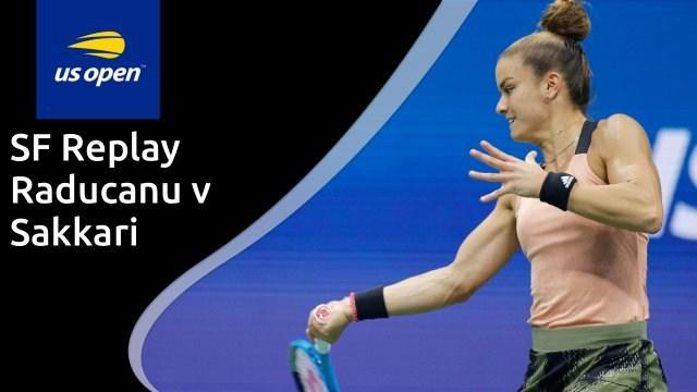 US Open women's semi-final - Raducanu v Sakkari - full replay
