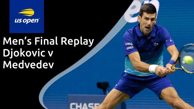 US Open men's final - Djokovic v Medvedev - full replay
