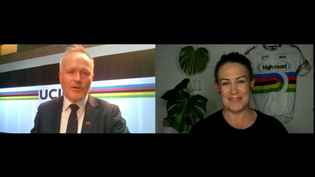 Kate Bates talks Wollongong World Champs with event CEO Stu Taggart