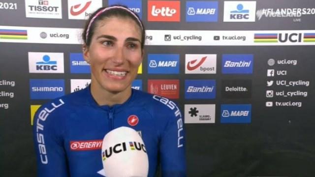 Winners' interview - Elite Women's road race