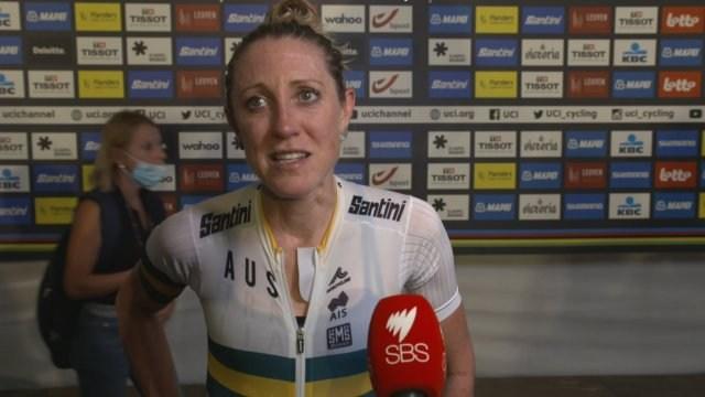 Rachel Neylan: 'It was such a hard race from the start